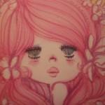 ふんわりピンク♪水森亜土さん2015カレンダーで乙女度UP