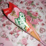 グリコ「ジャイアントカプリコ」ピンクのいちご味の破壊力