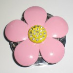 ピンクのお花バッグハンガーのデメリット!可愛いのに使えない理由