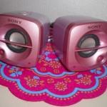 SONYのピンクスピーカーで、無料ラジオを24時間聴き放題♪