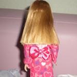 100均着せ替え人形のピンク浴衣をリカちゃんに活用♪