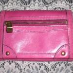 ダコタ財布ピンク。長く使える&飽きのこないシンプルデザインがイイ