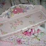 バラのキラキラトレーがあまりに乙女なので衝動買い♥ピンクかわゆい♥