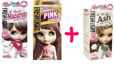 髪色をピンクアッシュにしたい!ってコトで混色セルフ染めにトライ! color
