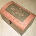 【ピンクトレジャーボックス】宝物は入ってないけどしっかり宝箱!