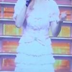 【紅白】聖子ちゃんのピンクマーメイドドレスが超絶ラブリーでした
