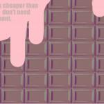 【フリー壁紙】ピンクスイーツ壁紙作りました(1280×768)♪