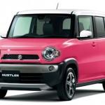 ピンクの可愛いクルマといえばスズキの人気車「ハスラー」!