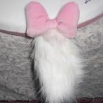 猫のしっぽが生えてる!「おしゃれキャットマリー」チェアパッド