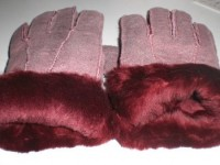 ピンクのムートン手袋を購入♪冬支度が楽しくなる可愛さ