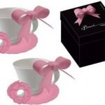 スペシャルなピンクのティーカップで紅茶タイムしたい・・・!