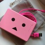 ピンクダンボー君のモバイルバッテリーを入手♪激カワすぎる///