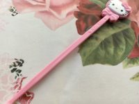 100円ショップのピンクのキティちゃん耳かき♪胸きゅん