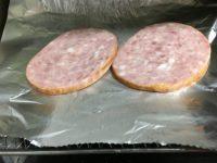 食レポ◆家族の食卓「モーニングステーキ」をトースターで焼くの巻♪