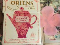 「ORIENS(オーリエンス)」可愛すぎる乙女デザイン紅茶発見♪