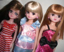 【禁断】xx才にして、初リカちゃん人形購入!100均ピンク服活用