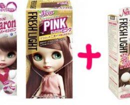 髪色をピンクアッシュにしたい!ってコトで混色セルフ染めにトライ!